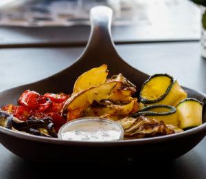 Selezione di verdure in padella - Cutilisci: il gusto di un'isola sana